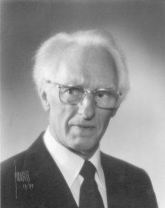 Professor Erik Palm.