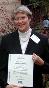 Kristina Tornqvist, SRF-pristagare 2004
