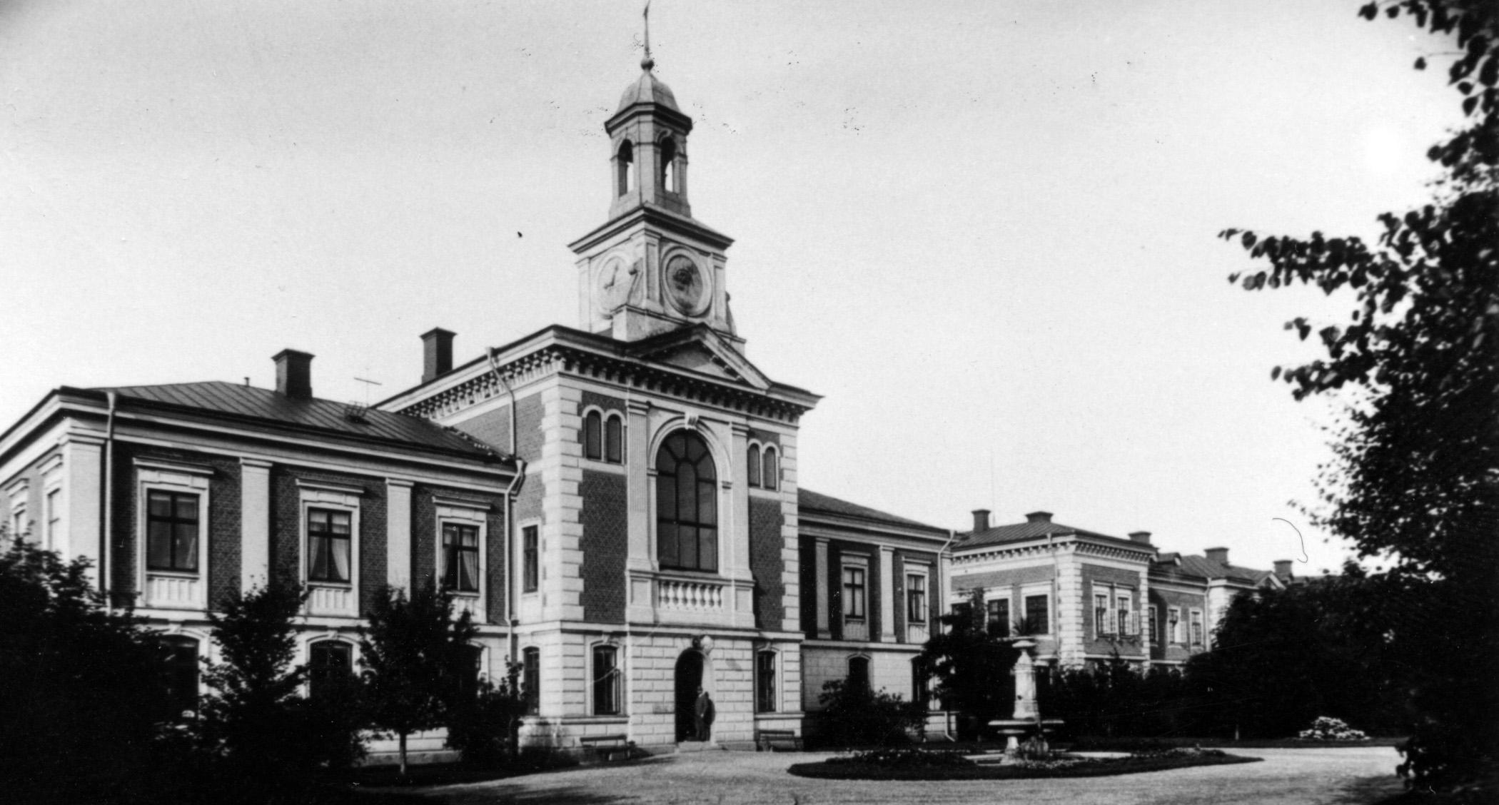 Förvaltningsbyggnaden, St Lars i Lund